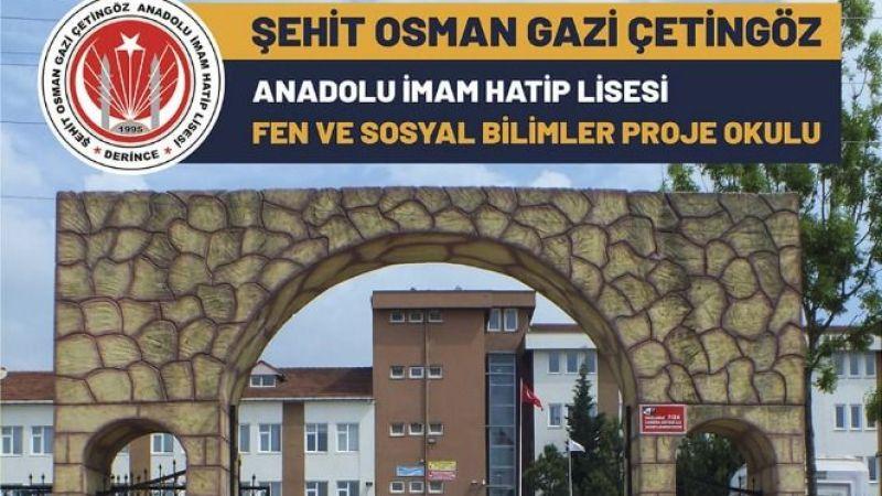 Şehit Osman Gazi Çetingöz Okulu, proje okulu oldu