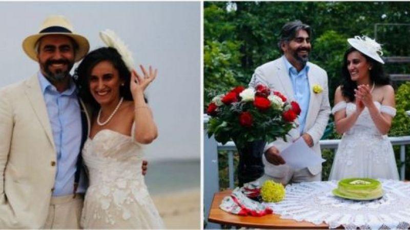 Canan Dağdeviren evlendi