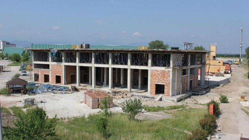 İtfaiye binasının kaba inşaatı bitmek üzere