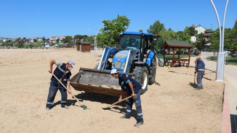 Kandıra sahillerinde hummalı çalışma! Plajlar temizlendi