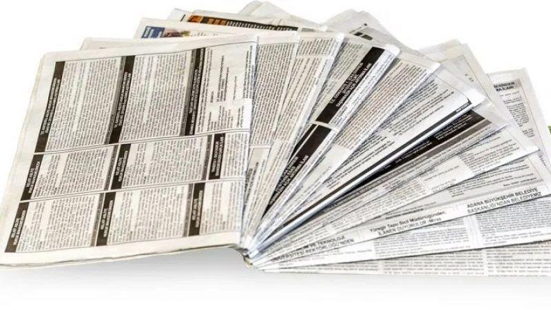 Valilik yerel gazetelere ilan vermeli...