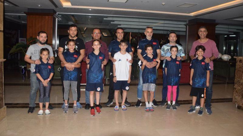 """Short Track Milli Takım sporcularına """"Babalar Günü"""" sürprizi"""