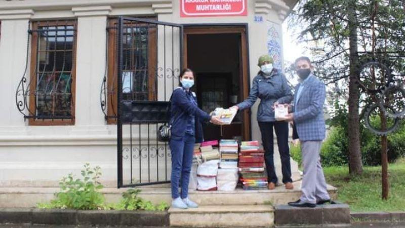 Şehit kütüphanelerine kitap desteği sürüyor