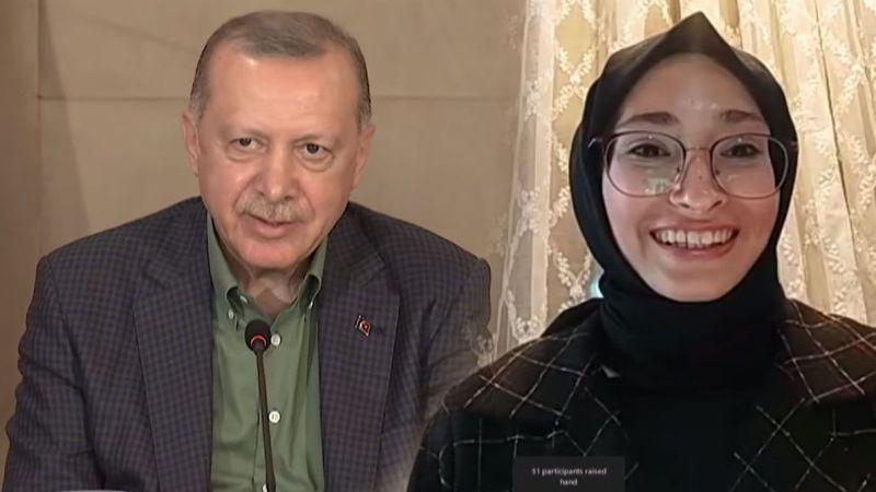 Kocaelili genç sordu, Cumhurbaşkanı Erdoğan yanıtladı