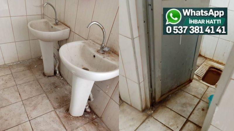 Tuvaletlerin hali berbat