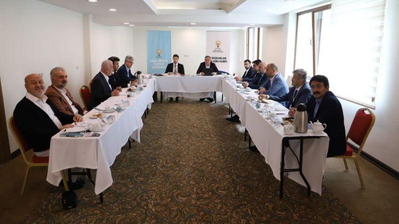 Başkan Ellibeş, Kızılcahamam Kampı'na katıldı