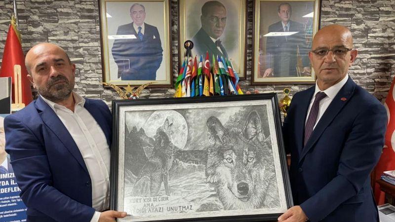 MHP, Başkan Yetişoğlu'nu ağırladı