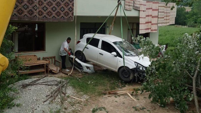 Kandıra'da kaza: 2 yaralı