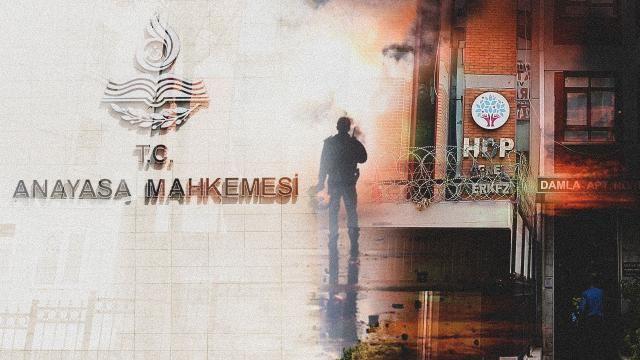 HDP iddianamesinin ayrıntıları: PKK'nın siyasi kanadı oldu