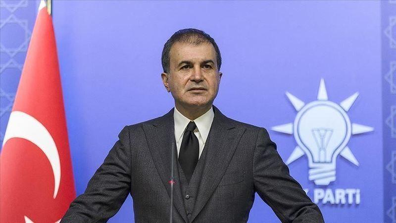 AK Parti Sözcüsü Ömer Çelik, çirkin saldırıyı kınadı