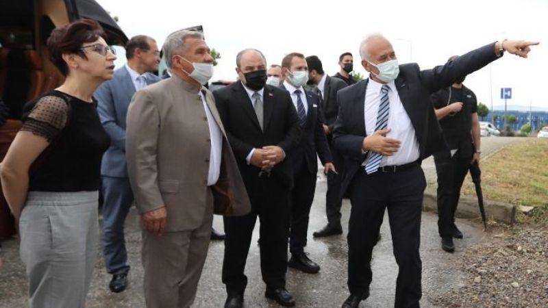 Bakan Varank, Tataristan Cumhurbaşkanı ile GEBKİM OSB'yi ziyaret etti