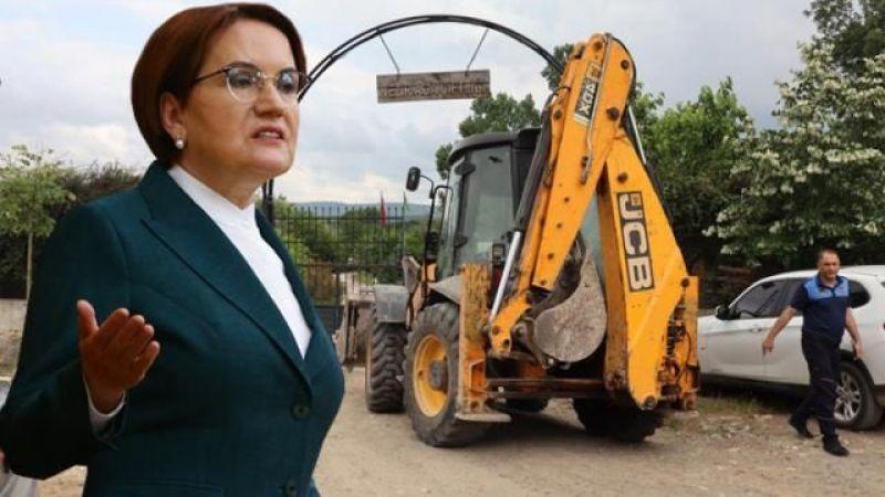 Akşener'den Türkkan'ın kaçak çiftliğinin yıkılmasına ilk yorum