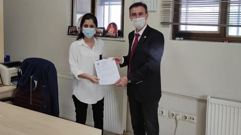 Hatipköy muhtarı Aksoy Muhtarlar Derneği'ne katıldı