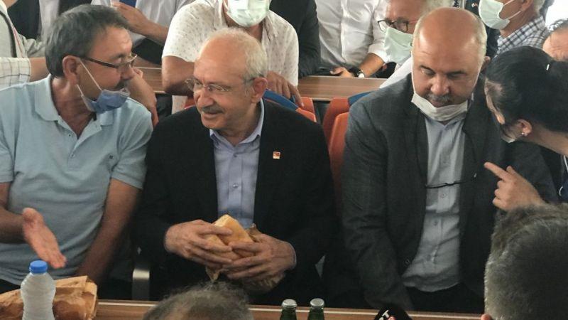 Kılıçdaroğlu'na Karadeniz balığı ikram edildi