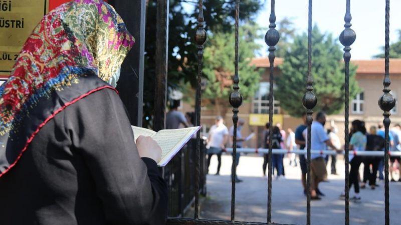 Kocaeli'de YKS ikinci oturum heyecanı