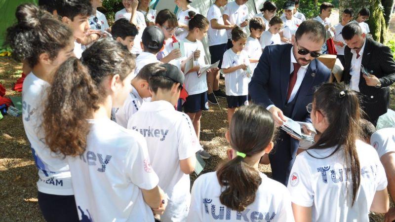 Başkan Küpçü, milli sporcularla buluştu