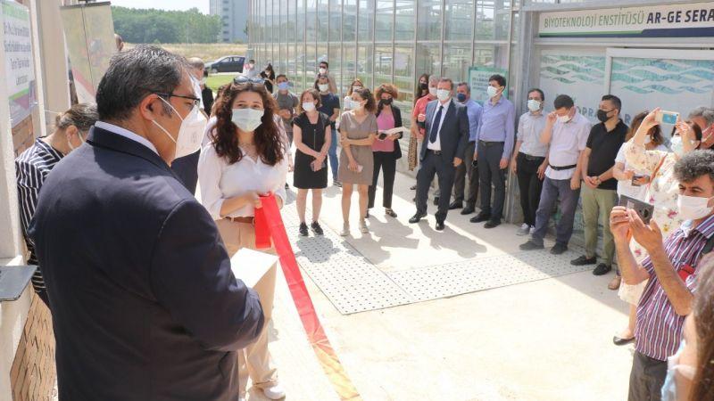 """Kocaeli'de """"Tarım Test ve Analiz Laboratuvarı"""" açıldı"""
