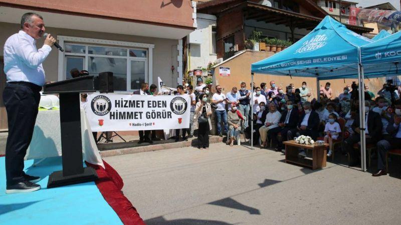 """Gültepe Kültür Merkezi'nin temeli atıldı! Büyükakın: """"Laf değil iş üretiyoruz"""""""