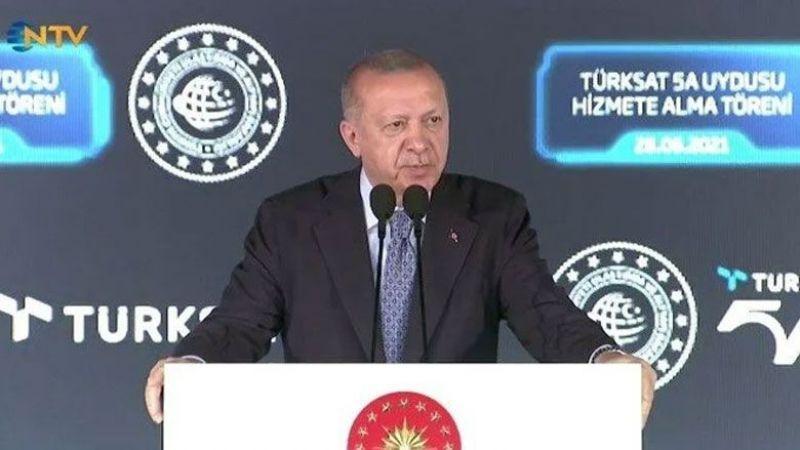 Cumhurbaşkanı Erdoğan yerli uydu için tarih verdi