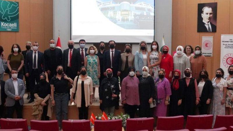 Marmara Kadın Kooperatifleri Birliği, kapasite geliştirme eğitimi aldı