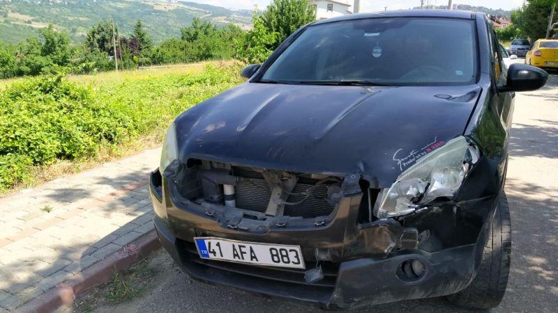İzmit'te kaza: 1 yaralı