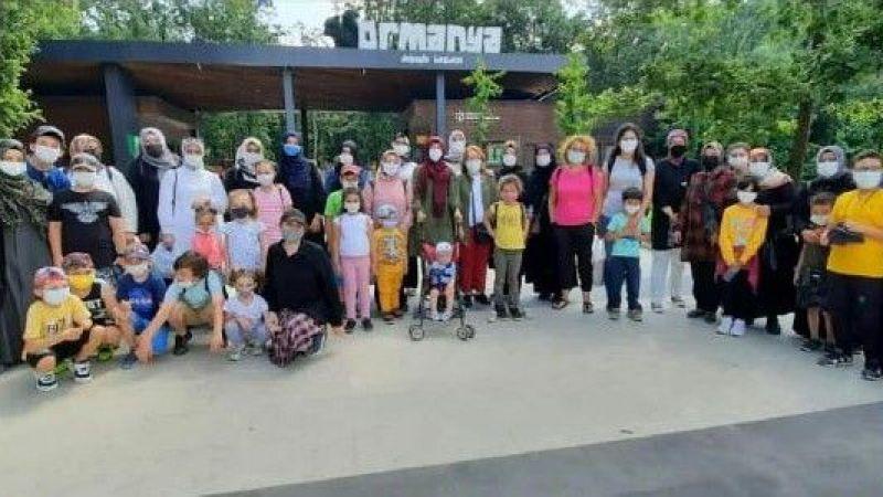 İşitme engelli kadınlar Ormanya'yı gezdi