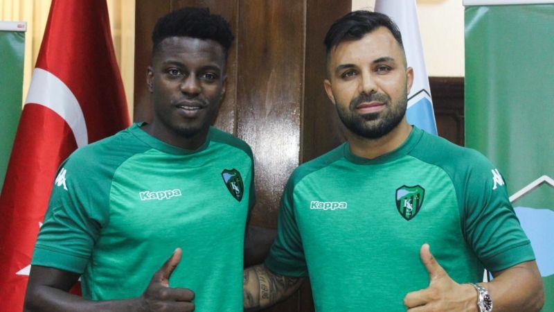 Kocaelispor'da iki yeni transfer imzayı attı