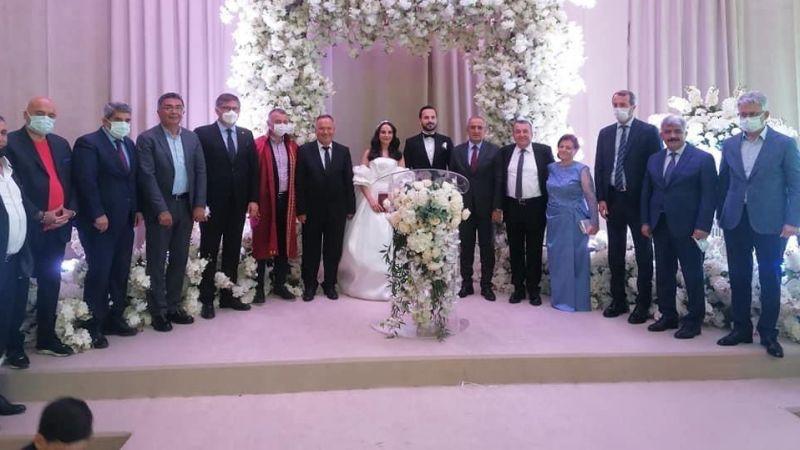 Ziver Gül'ün düğününe protokol akın etti