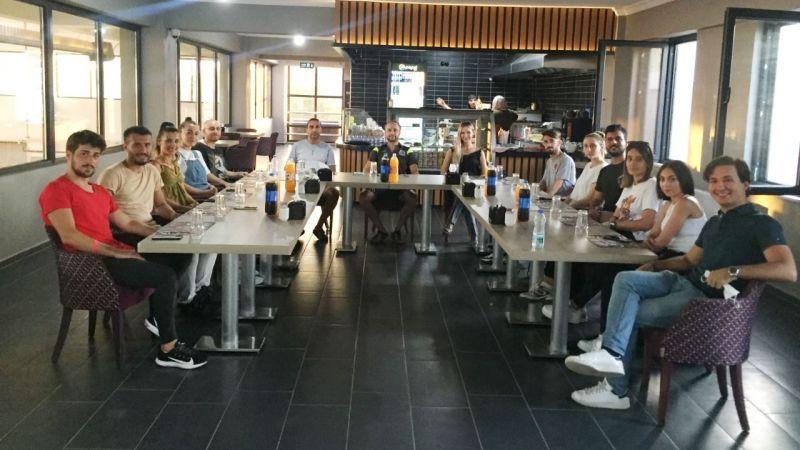 Olimpiyat Yıldızları Kulübü'nde değerlendirme toplantısı yapıldı