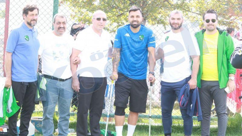 Hasan Hatipoğlu'na destek