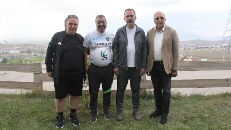 Koyun, yeni tesis için Spor Bakanı ile görüştü
