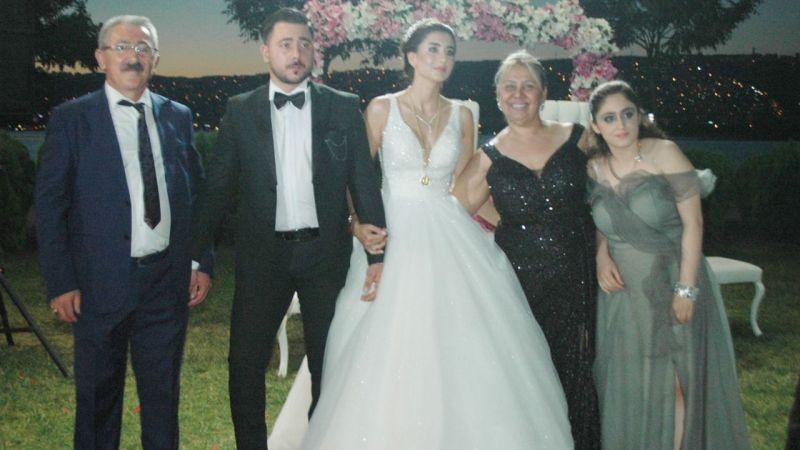 Tekin Uygur oğlunu evlendirdi
