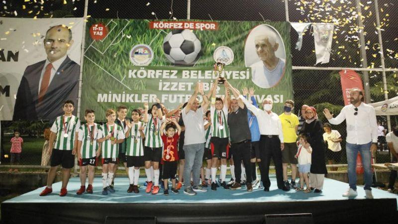 İzzet İbiş'te şampiyon Hereke Yıldızspor oldu
