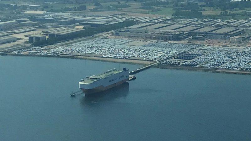 Yılın ilk yarısında ihraç edilen her 100 araçtan 43'ü Kocaeli'de üretildi