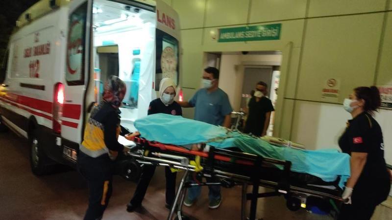 Arabanın çarptığı yaya ağır yaralandı