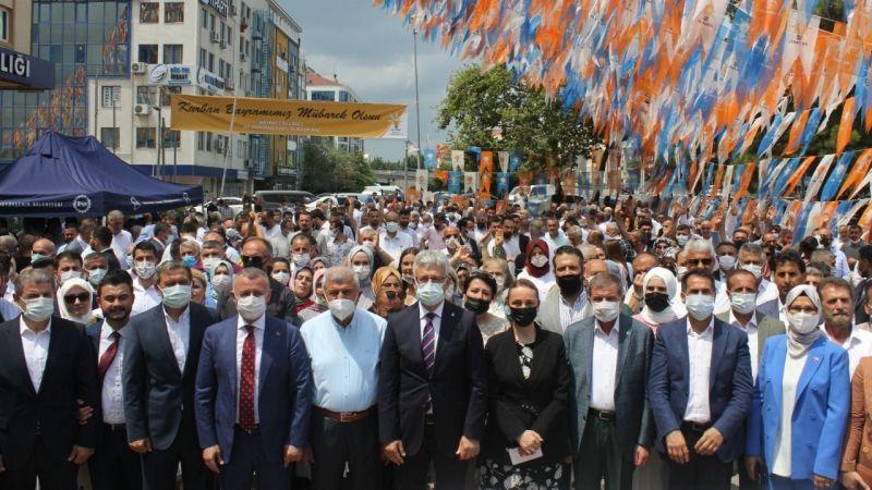 AK Parti Kocaeli teşkilatları bayramlaştı