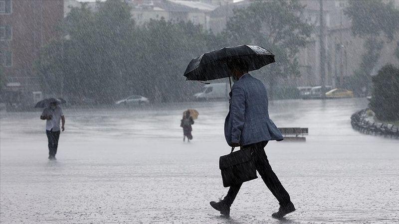 Meteoroloji'den Kocaeli için sağanak uyarısı