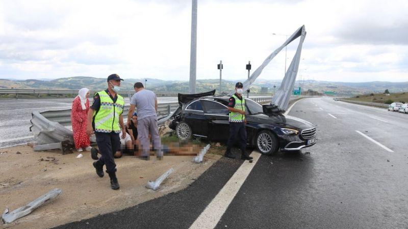 Kuzey Marmara Otoyolu'nda feci kaza: Ölü ve yaralılar var