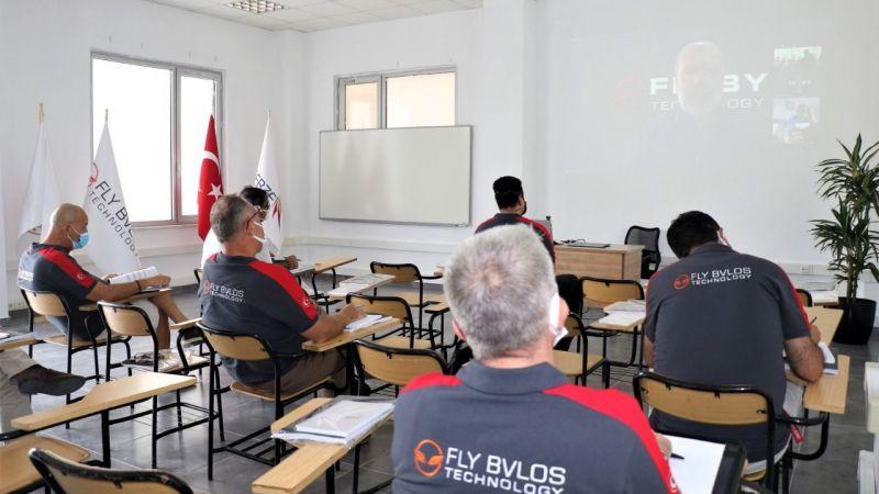 GTÜ Uçuş Okulu'nda drone deneme eğitimi