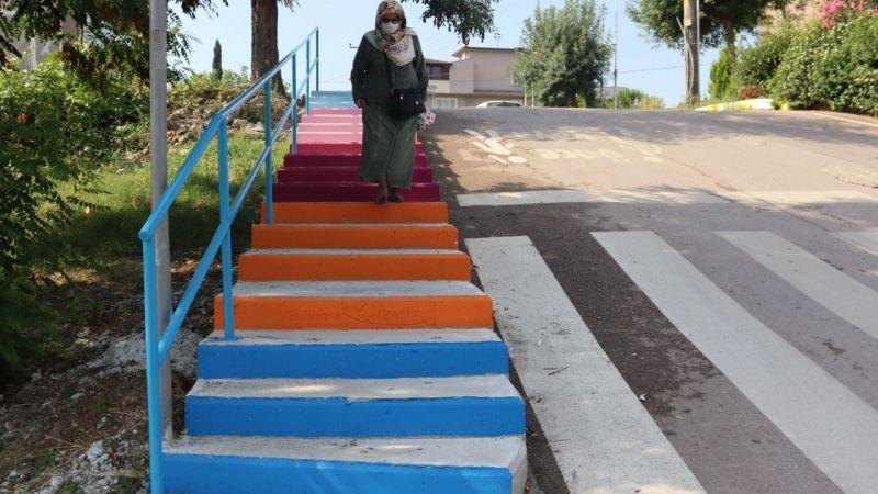 İzmit'te üç yeni merdiven hizmette
