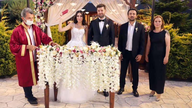 Özgür Sürekçi'nin nikah şahidi Hamza Mutlu oldu