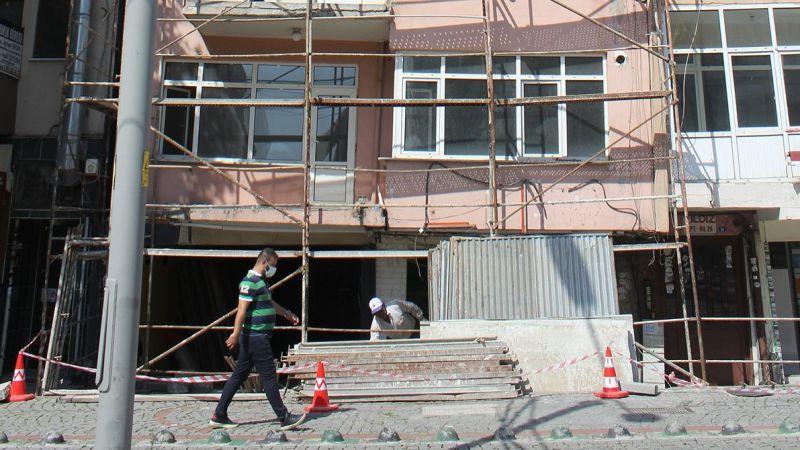 Önder Apartmanı yıkıma hazırlanıyor