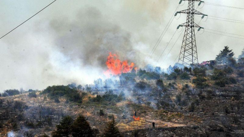 Körfez'deki orman yangınıyla ilgili 1 gözaltı