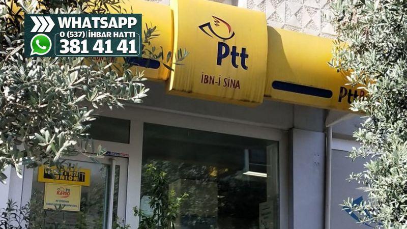 PTT şubesinde yazıcı bozuldu işler aksadı