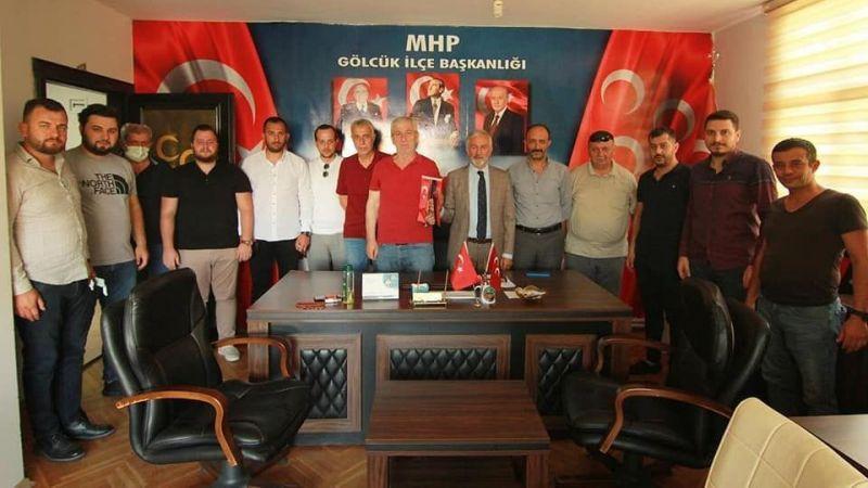 Yönetimden MHP'ye ziyaret