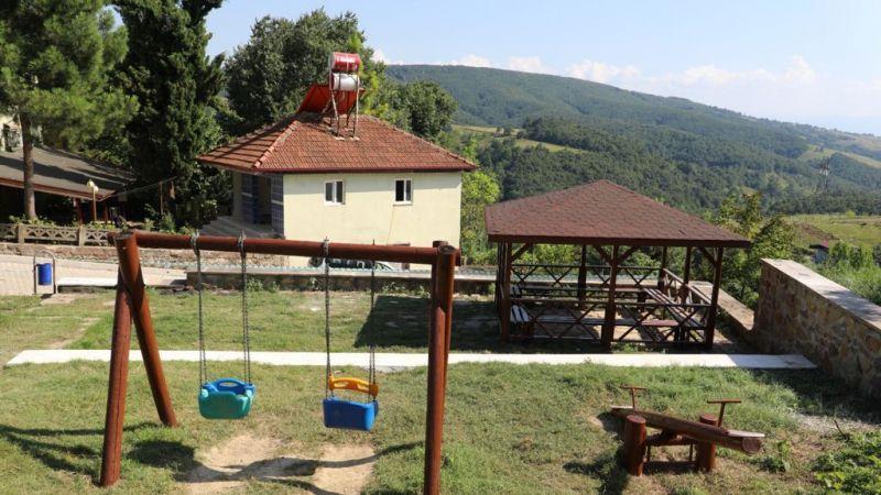 Nebihoca Parkı'nda onarım tamamlandı