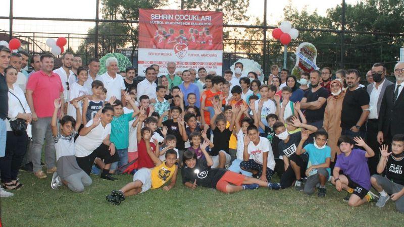 Şehrin Çocukları Futbol Akademisi'nde buluşuyor