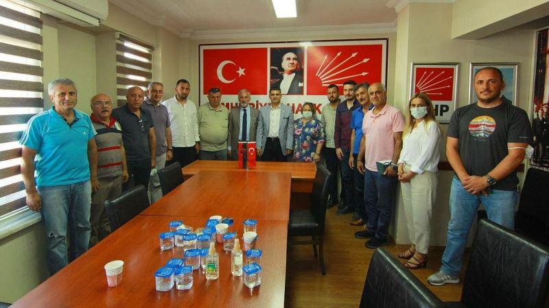 Gölcükspor'dan CHP'ye ziyaret
