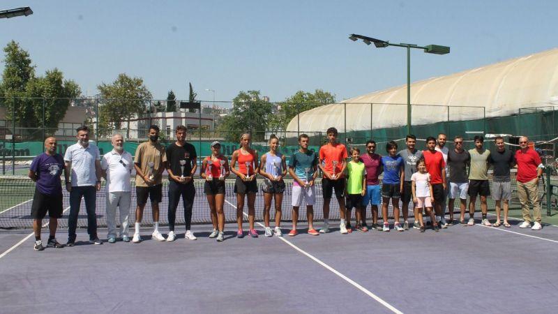 Teniste, Duru birinci Özge Yüksel ikinci oldu