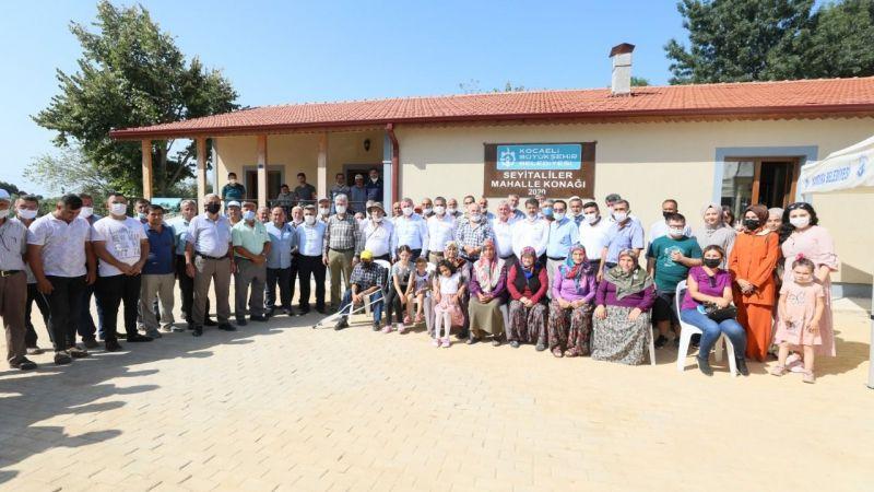 Kandıra'daki eski okul sosyal tesise dönüştürüldü